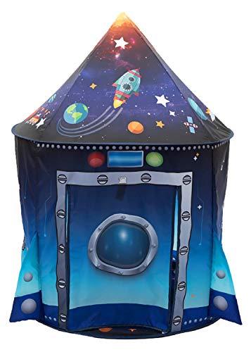 Benebomo Carpas para niños Cápsula Espacial Tiendas de campaña,Tipi para niños, casita...