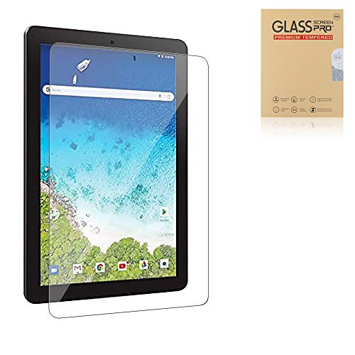Cherrry for RCA 10 Viking Pro Tempered Glass Protective Film [9H Hardness] [high Touch] [Scratch Resistant] [no Bubble Easy to Install] for RCA 10 Viking Pro/RCA Atlas 10 Pro 10.1 Inch Tablet (1 Pack)