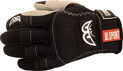 BERIK G-5992-BK Handschuh schwarz/grau XL