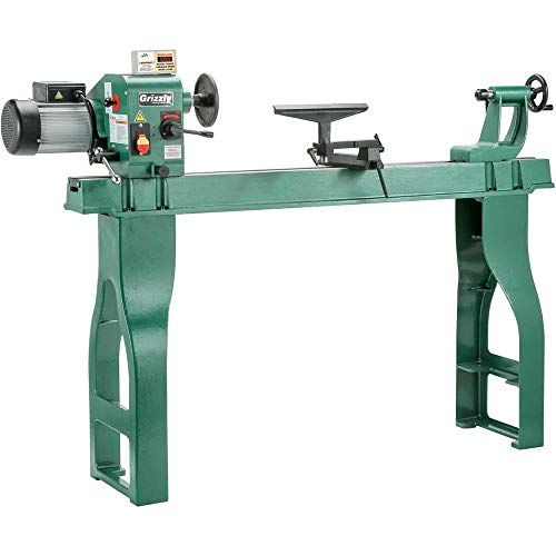 3 Grizzly G0462 Wood Lathe with Digital Readout