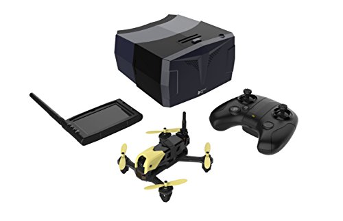 RC drone configuration: H122D FPV racing drone + HT015 transmitter + HS001 LCD monitor + HV002 goggles. 5.8G FPV Real time photo/video transmission ,watch video on the LCD screen or take photos. Aerobatic airplane H122D support aerobatic flight can 3...