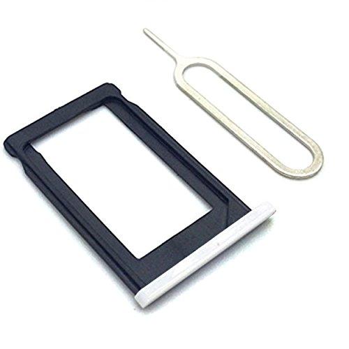 Witte Sim Card Lade Houder en Ejector Pin voor Iphone 3 3G 3GS