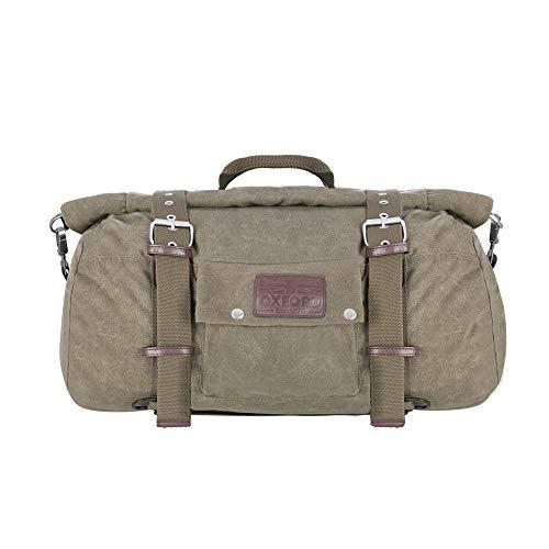 Oxford Unisex Roll Bag Khaki 30L Heritage Rolltasche, 30 l Motorradgepäck