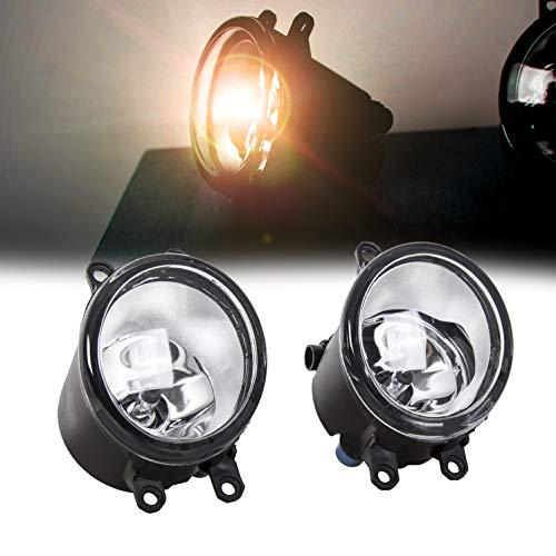 For 2006-2013 Toyota Fog Light Lamp Pair Compatible With 2006-2013 Toyota Camry Yaris Corolla Highlander RAV4 Lexus Scion H11 12V 55W