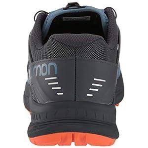 Salomon Men's Ultra/PRO Trail Running, Copen Blue/India Ink/Red Orange, 7