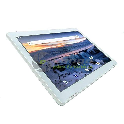 InnJoo Tablet con 3G F104 White - QC MEDIATEK 6582-1GB RAM - 16GB - 10.1'/25.65CM - Android 8 - CÁMARA 0.3/2MPX - Micro SD - B
