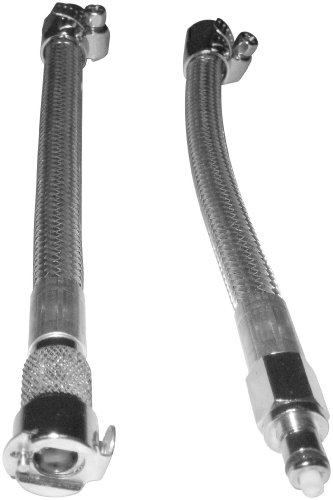 Goodridge Fuel Crossover Line with Quick Disconnect-Stainless HDFL001