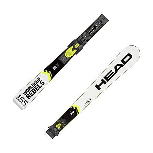 HEAD Esquís Worldcup Rebels i. SLR + fijaciones PR 10 GW blanco (100) 160