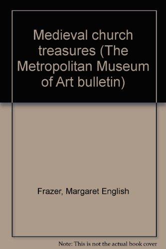 Purchase Medieval church treasures (The Metropolitan Museum of Art bulletin)