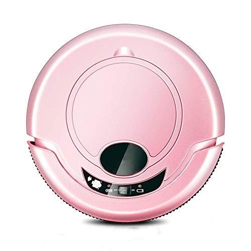 LIANGANAN Limpieza del Robot Robot Aspirador Inteligente for aspiradoras sin Hilos casero del Robot Anti caída del Equipo de Barrido con trapeador, aspiradora (Color: Rojo) (Color: Rosa) zhuang94