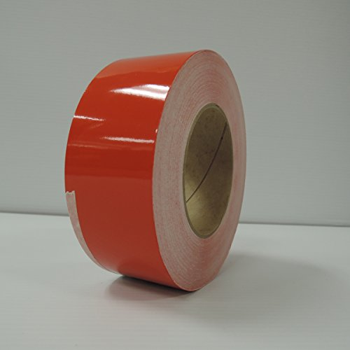 """2"""" 3M Vinyl Striping 150' 25 Colors Available (Tomato Red)"""