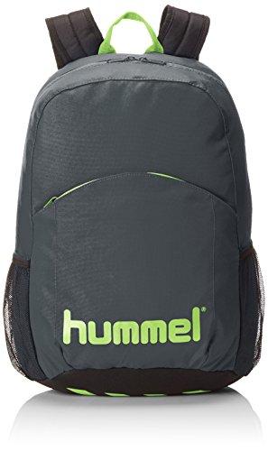 Hummel Unisex Rucksack Authentic, dark slate/green flash, 44 x 19 x 30 cm, 25 liters, 40-960-1616