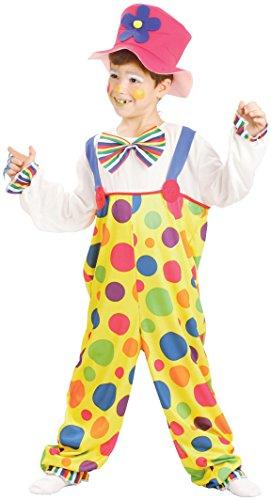 Rire Et Confetti - Fibclo013 - Déguisement pour Enfant - Clown