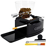 GERUI Electric Cigarette Rolling Machine Automatic Cigarette Injector with Hopper, C77, Black