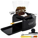 GERUI Electric Cigarette Rolling Machine Automatic Cigarette Injector with Hopper, C77, Black
