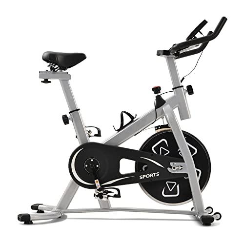 Bicicletas de ejercicio estacionarias, Bicicleta de ejercicios para el hogar Bicicleta de ciclismo para interiores Bicicleta para el hogar Cardio Gym, Bicicleta de entrenamiento con volante LBS