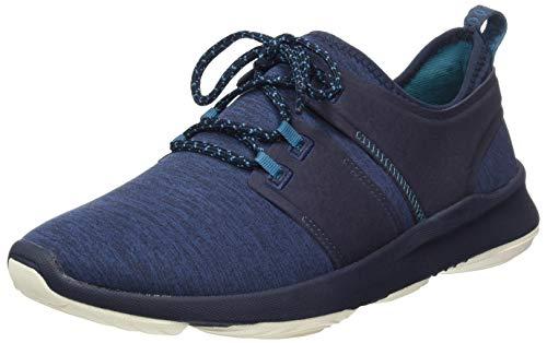 Hush Puppies Herren Geo Sneaker, Blau (Blue (Navy Heather Navy Heather) Navy Heathered), 46 EU