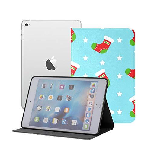 Ipad Mini 1 2 3 Case,slim Lightweight Stand Smart Back Case For Ipad Mini, Mini 2, Mini 3 With Auto Sleep/wake,Christmas Stockings
