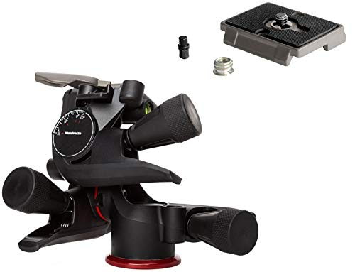 Manfrotto MHXPRO-3WG XPRO Geared Head w/Bonus Manfrotto 200PL Quick Release Plate
