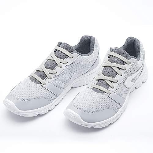 RJ-Sport Elastische Silikon Schnürsenkel flach für Kinder und Erwachsene - perfekter schleifenloser Schnürbänder Ersatz (20 Schnürrlie's) (Weiß)