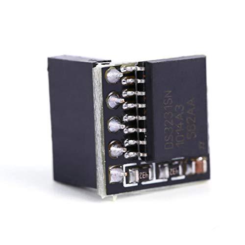 FOLOSAFENAR DS3231 Echtzeit-RTC-Board-Clock-Modul Schwarz für Raspberry Pi Für Raspberry Pi