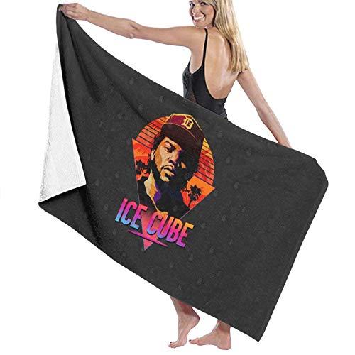U/K Ice Cube - Toalla de baño de secado rápido de los años 80