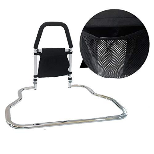 HOME-Furniture Bettschienen for Privatanwender Erwachsene Adjustable Weiß Bed Metallbett Griff Bed Rail Safety Side-Schutz for Ältere