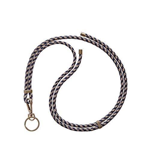 KNOK Schlüsselband Anhänger mit Kordel zum Umhängen Umhängeband Handgefertigt (Majestic)