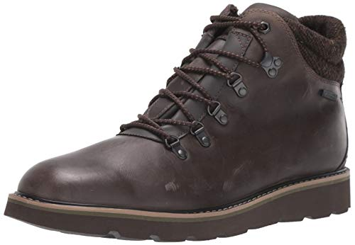 Rockport Men's Storm Front Alpine Oxford Boot, Dark Brown Leather, 10.5 M US