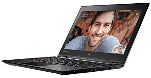 Lenovo ThinkPad Yoga 260 (12.5 inch Multi-Touch) Tablet PC Core i5 (6200U) 2.3GHz 8GB (1x8GB) 256GB SSD WLAN WWAN BT Webcam Windows 10 Pro 64-bit (Intel HD Graphics 520) Nero (Ricondizionato)