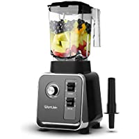 WantJoin Smoothie Countertop Blender with 2L Tritan Container (Black)