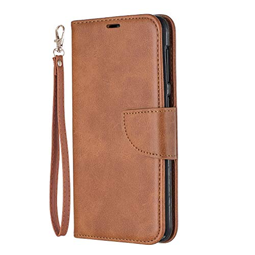Purchase Lomogo Galaxy A10 Case Leather Wallet Case with Kickstand Card Holder Shockproof Flip Case ...