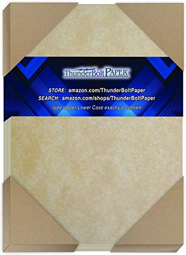 Vintage Colored Old Parchment Semblance 60 Pound is Not Card Weight =24# Bond Paper Sheets 150 Natural Parchment 60# Text 8.5 X 14 inches Legal Size