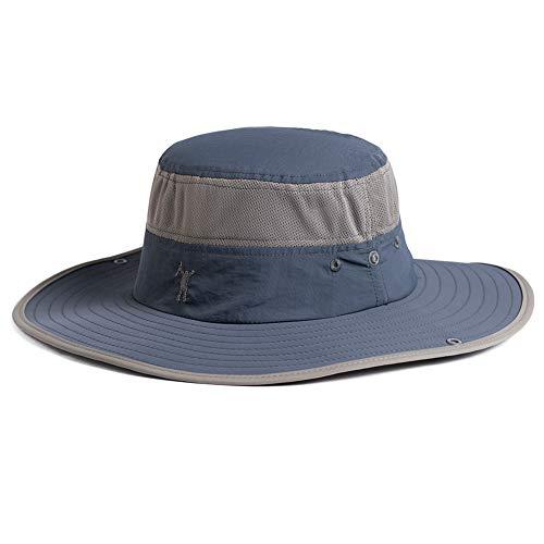 Comhats Siggi UPF50 - Sombrero de pesca con ala ancha, sombrero de trekking para hombre,...