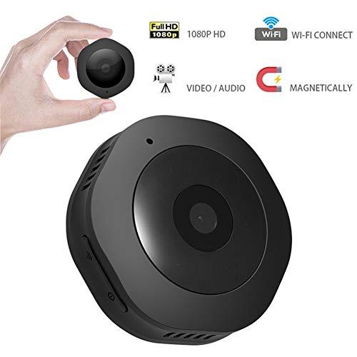 LNLJ Mini verborgen camera 1080p kleine beveiligingscamera thuis HD met nachtzicht en compacte camera voor binnen en buiten, bewegingsdetectie