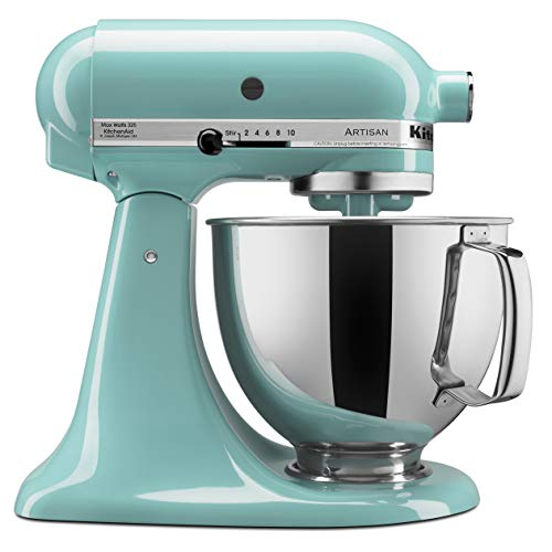 KitchenAid Artisan Series 5-Qt. Stand Mixer with Pouring Shield - Aqua Sky