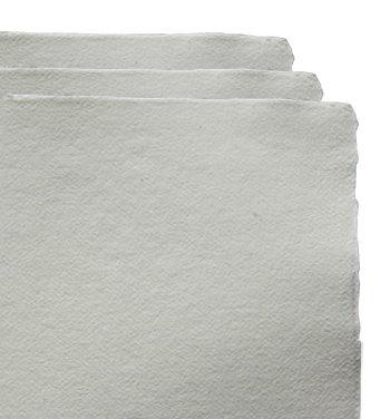 Khadi handgemaakte 100% Rag aquarel papier 320gsm : ruw : 20 vellen pak A6