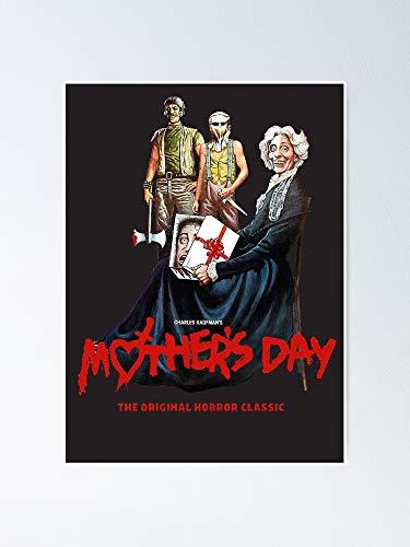 MCTEL Mother's Day - VHS Cover Artã€hï½ï½'ï½'ï½ï½'】 Design (1980)☆vhsgasm Video☆ Poster 12x16 Inch No Frame Board for Office Decor, Best Gift Dad Mom Grandmother and Your Friends