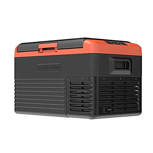 Mini Refrigerador de 30/40/50 litros de Capacidad DC o AC Refrigerador para Dormitorios Silencioso Muy Adecuado para una Barbacoa al Aire Libre, un Refrigerador Portátil de Picnic Yun Refrigerador