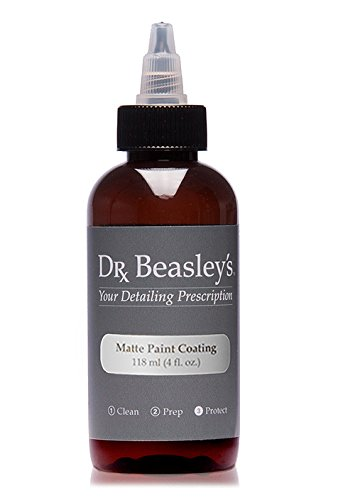 Dr. Beasley's Matte Paint Coating -4 oz., Durable and Hydrophobic, Resists UV Fading, Readily Biodegradable