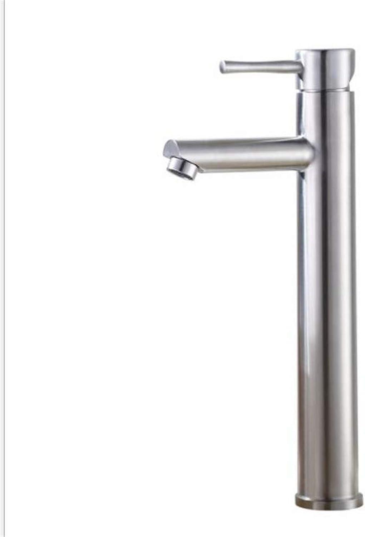 Modernsltbathroom Sink Basin Lever Mixer Tap 304 Stainless Steel Face Pot Cold and Hot Water Faucet Art Pot Upper Pot Sanitary Ware