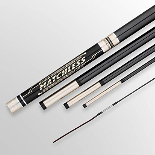 LJXLXY Fishing Rod Holder Fishing Rod Crucian Carp Rod Ultra-Light Super-Hard Ultra-fine Fishing Rod Telescopic Carbon Hand Rod Fishing Rod Fishing Rod and Reel Combo (Size : 4.8meters)