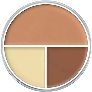 Kryolan 9013 Ultra Foundation Trio Face Makeup (A)