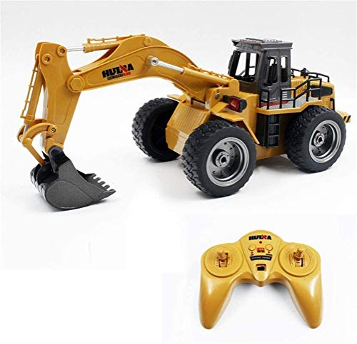 Plastic Electronic Element 1530 1:18 6CH RC Alloy Rooter Truck RTR with Movable Lifting Arm/Mechanical Sound/LED Light