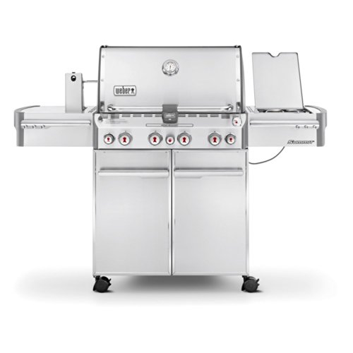 Weber 7170001 Summit S-470 4-Burner Liquid...