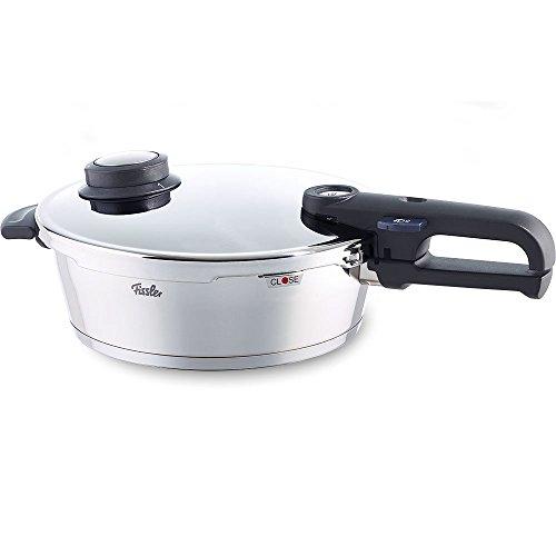 Fissler vitavit premium / Cacerola a presión (4 litros, Ø 26 cm) de acero inoxidable con tapadera, apta para todo tipo de cocinas, incluida inducción
