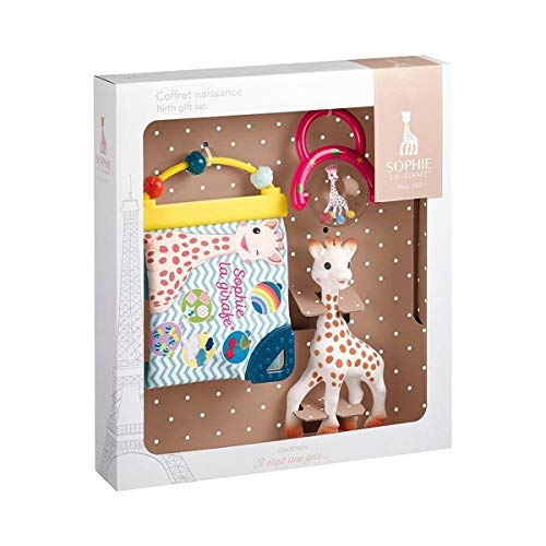 Sophie la Giraffe Geschenkset zur Geburt, Weiß
