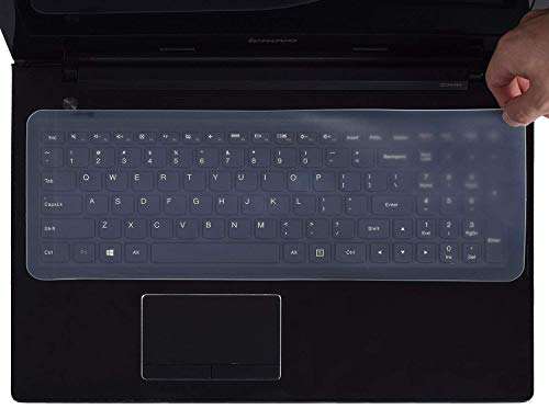 AWINNER Universal Silicone Keyboard Protector Skin for 15.6-inch Laptop