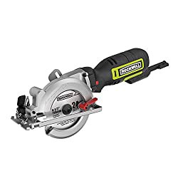"cheap Rockwell RK3441K 4-1 / 2 ""Compact circular saw, 5 amps, 3500 rpm, with dust hole and accessory kit"