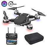 3T6B Drone Plegable, Cámara 1080P HD 5 megapíxeles, Avión WiFi FPV...